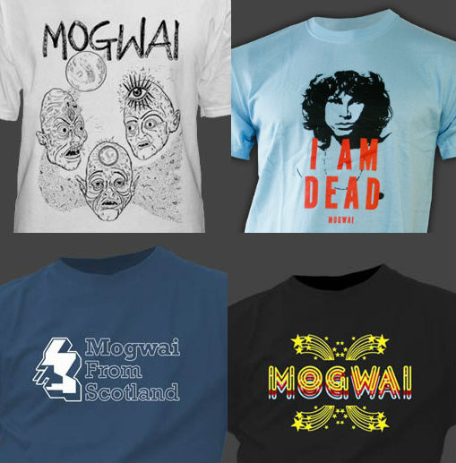 Band T-shirts: Mogwai